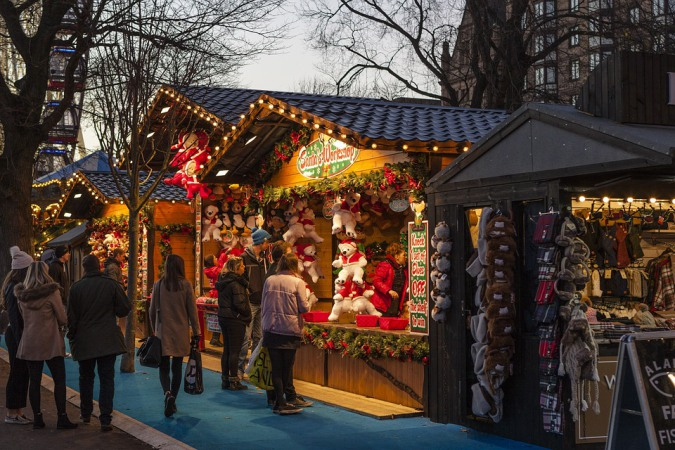 Where to do your Christmas shopping in Paris?